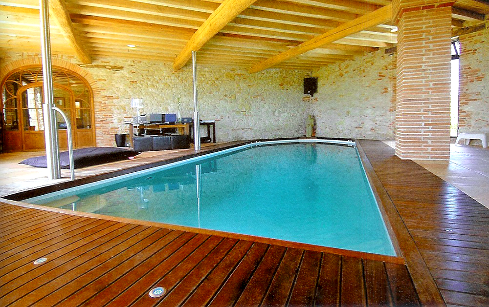 Home swimming pool design renovation and repair Basement swimming pool construction