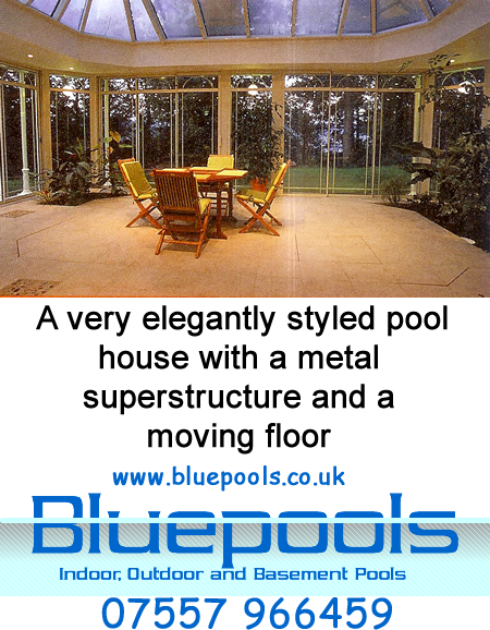 moveable floor in same pool house