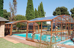 luxury abris pool shelter